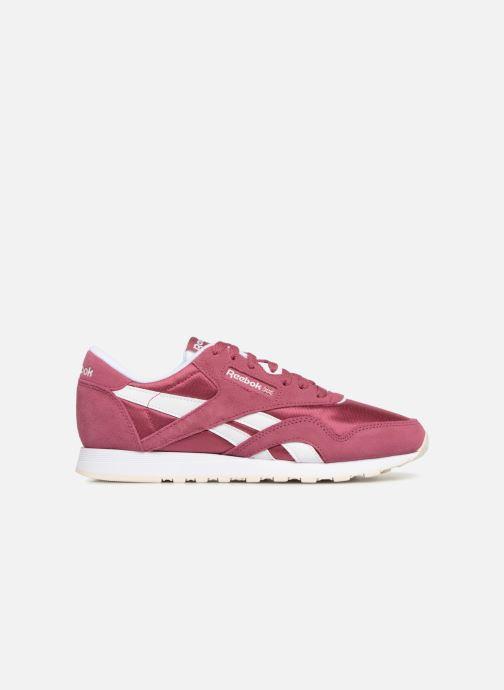 Sneakers Reebok CL nylon Paars achterkant