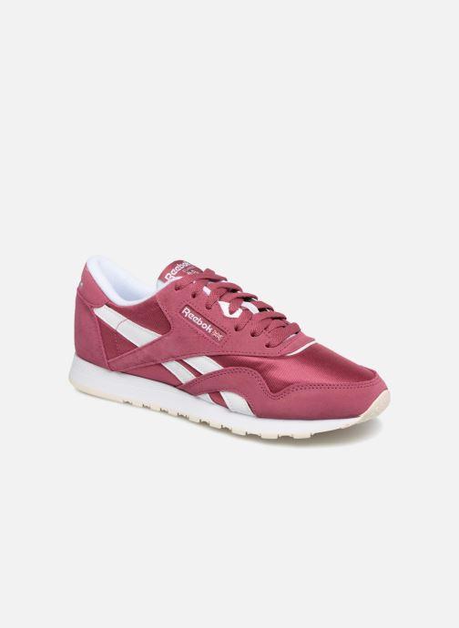 Sneakers Reebok CL nylon Paars detail
