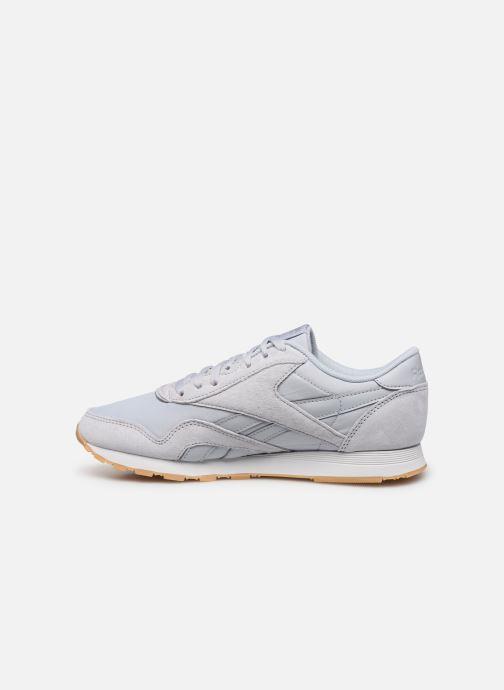 Sneakers Reebok CL nylon Grijs voorkant