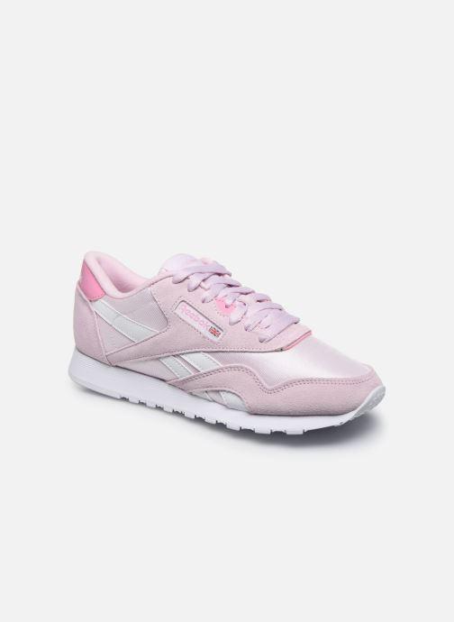 Sneakers Reebok CL nylon Rosa vedi dettaglio/paio