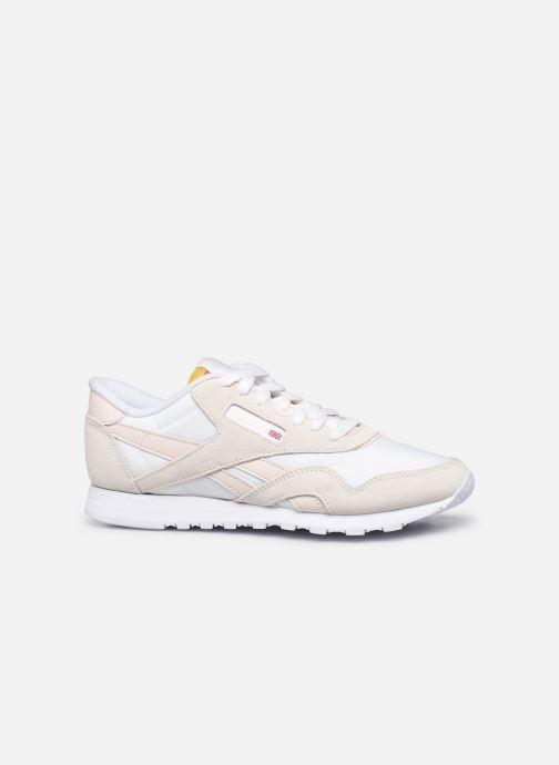 Sneakers Reebok CL nylon Bianco immagine posteriore