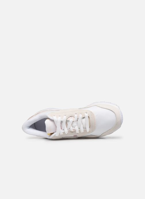 Sneakers Reebok CL nylon Bianco immagine sinistra