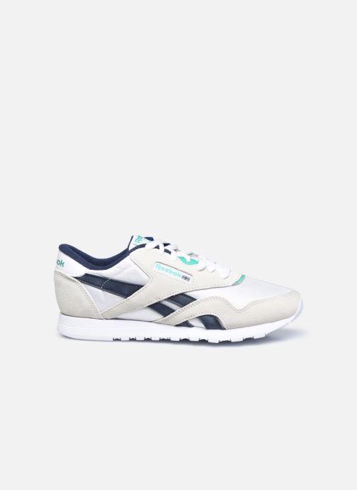 Sneaker Reebok CL nylon weiß ansicht von hinten