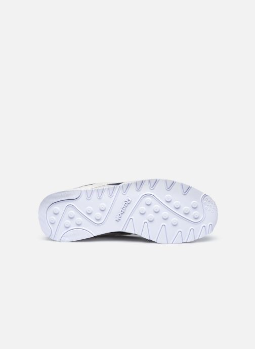 Sneaker Reebok CL nylon weiß ansicht von oben