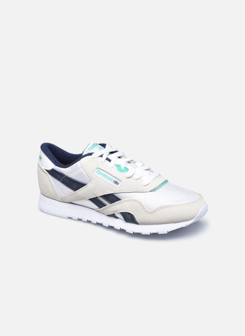Sneaker Reebok CL nylon weiß detaillierte ansicht/modell