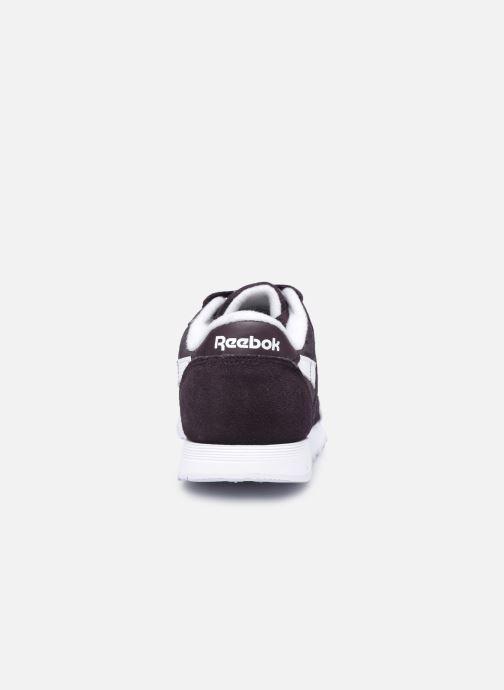 Sneakers Reebok CL nylon Nero immagine destra