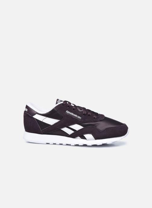 Sneakers Reebok CL nylon Nero immagine posteriore