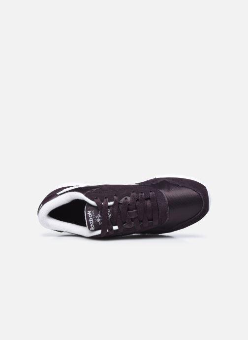 Sneakers Reebok CL nylon Nero immagine sinistra
