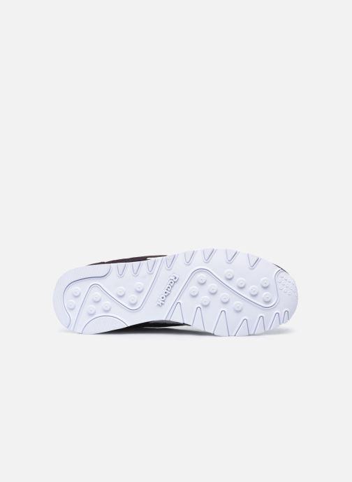 Sneakers Reebok CL nylon Nero immagine dall'alto