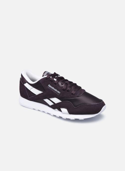 Sneakers Reebok CL nylon Nero vedi dettaglio/paio