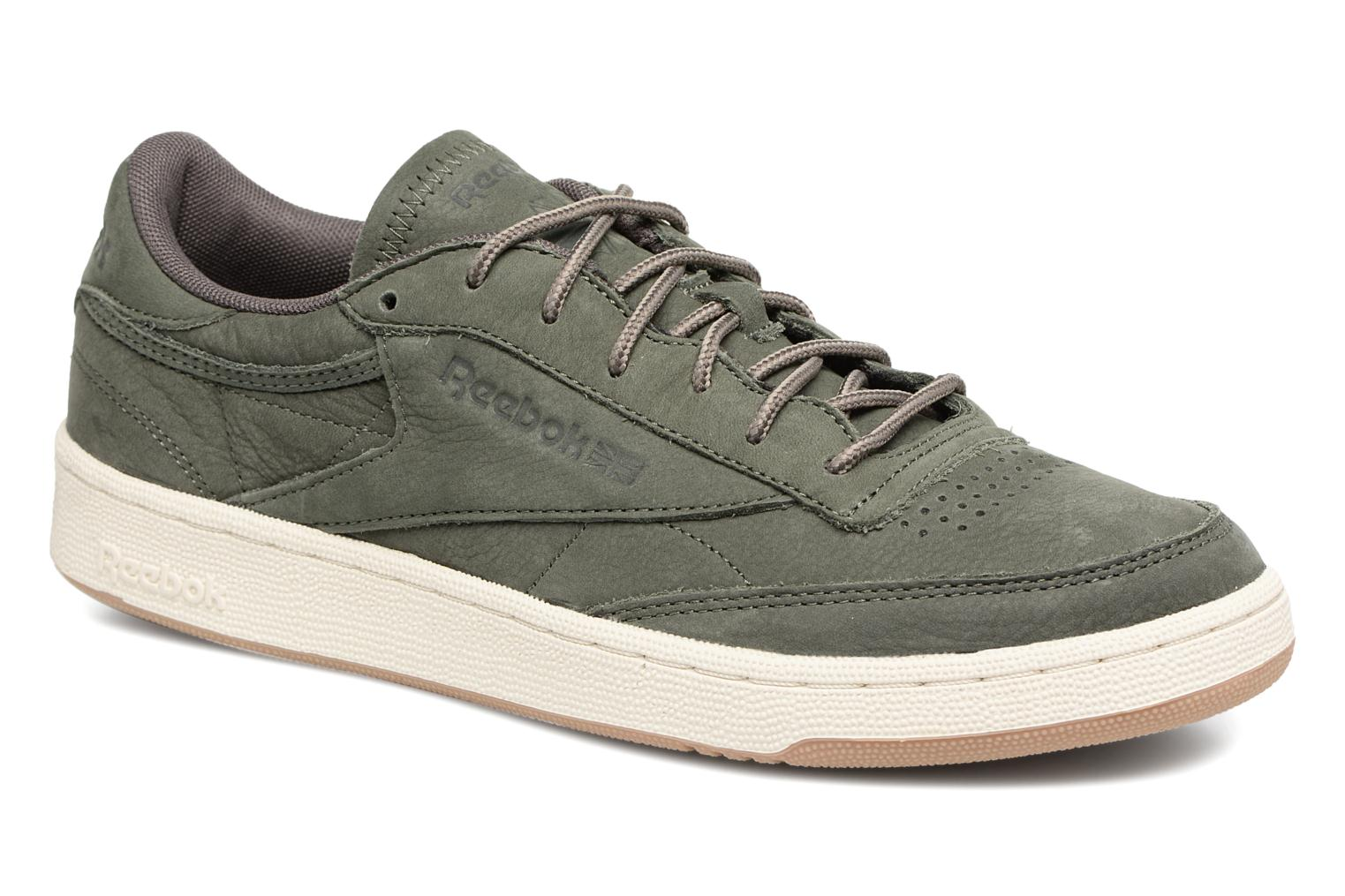 Sneakers Reebok CLUB C 85 WP Groen detail