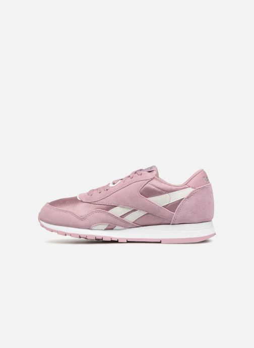Trainers Reebok CL NYLON 1 Pink front view
