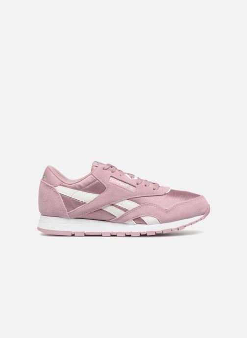 Trainers Reebok CL NYLON 1 Pink back view