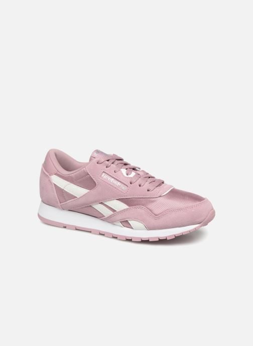 Trainers Reebok CL NYLON 1 Pink detailed view/ Pair view