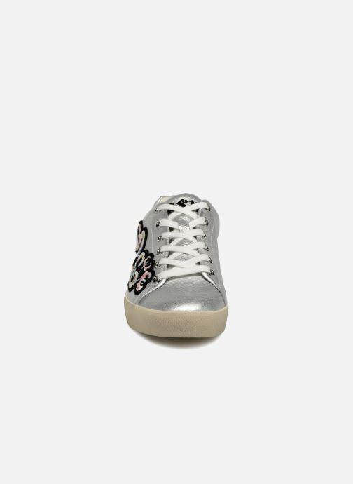 Baskets Ash Nak bis Combo B Argent vue portées chaussures