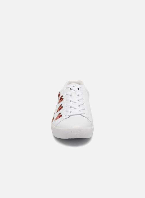 Baskets Ash Nikita Combo B Blanc vue portées chaussures