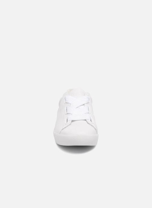 Baskets Ash Nina Combo G Blanc vue portées chaussures