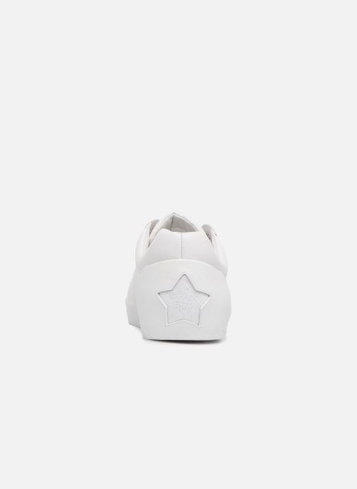 Sneakers Ash Nina Combo G Wit rechts