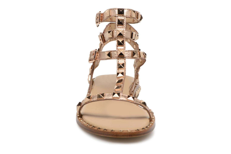 Sandales et nu-pieds Ash Poison Goat Or et bronze vue portées chaussures