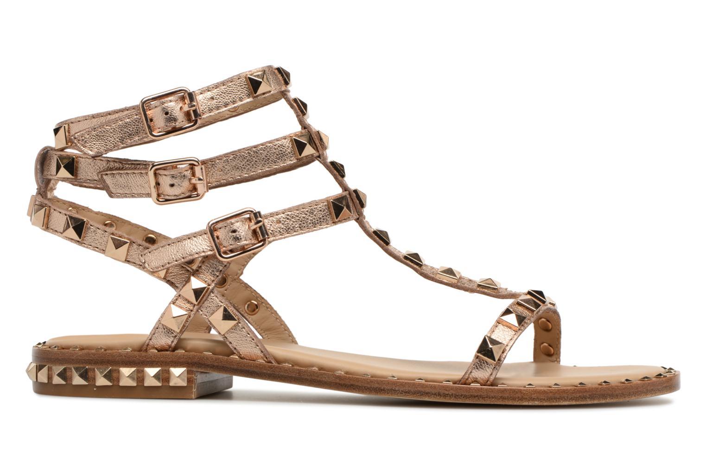 Sandales et nu-pieds Ash Poison Goat Or et bronze vue derrière