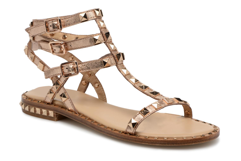 Sandales et nu-pieds Ash Poison Goat Or et bronze vue détail/paire