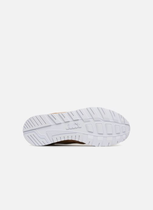Sneaker Diadora N9000 CVSD braun ansicht von oben