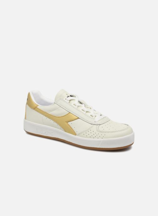 Trainers Diadora B.ELITE L White detailed view/ Pair view