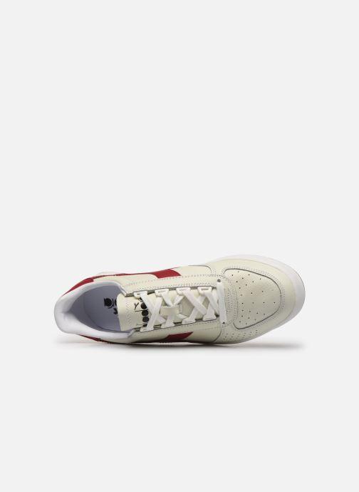 Sneakers Diadora B.ELITE L Bianco immagine sinistra