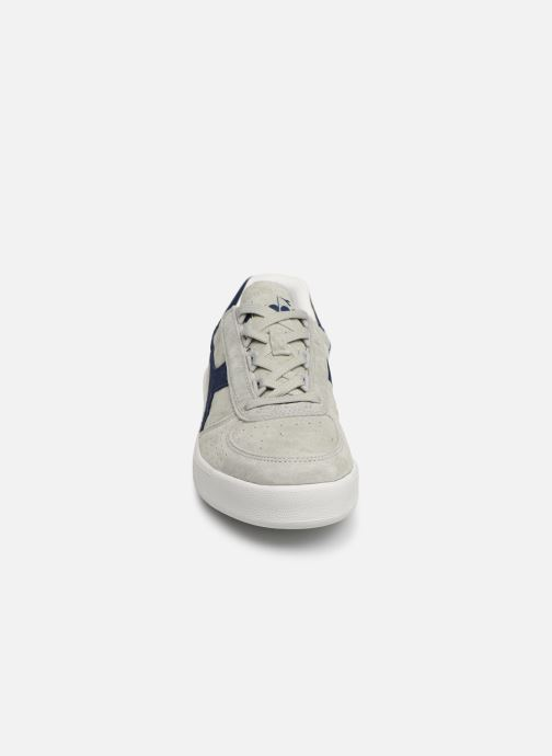 Baskets Diadora B.ELITE NUB Gris vue portées chaussures