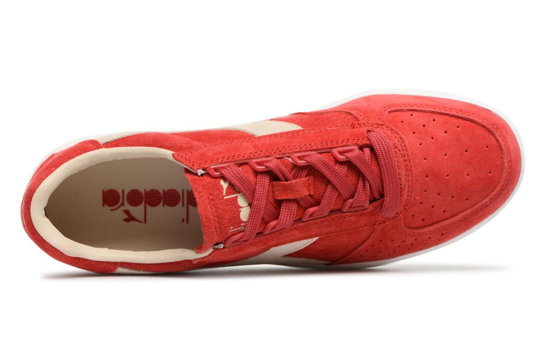 Pompeian elite Nub Red white Diadora B qS34R5cAjL