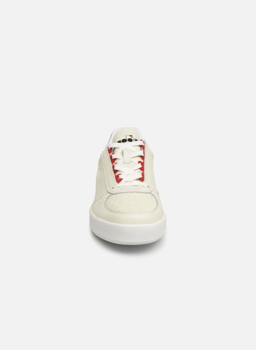 Baskets L Diadora elite Perf Salsa B rosso Bianco TPOkZuwXi