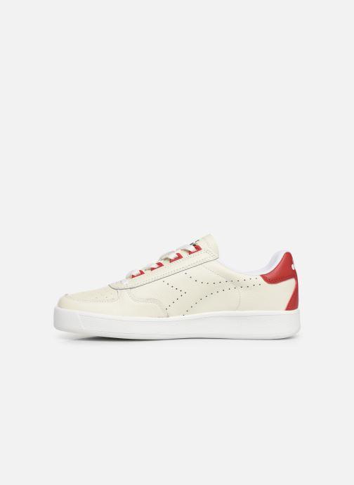 Sneaker Diadora B.ELITE L PERF weiß ansicht von vorne