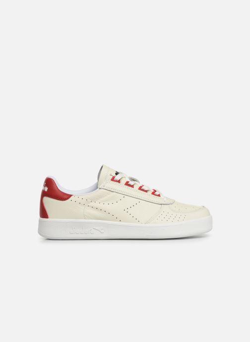 Sneaker Diadora B.ELITE L PERF weiß ansicht von hinten