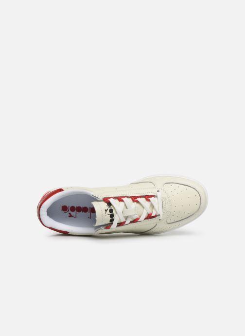 Sneaker Diadora B.ELITE L PERF weiß ansicht von links