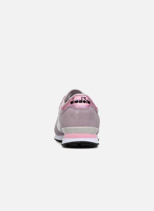 Sneakers Diadora CAMARO WN Rosa immagine destra