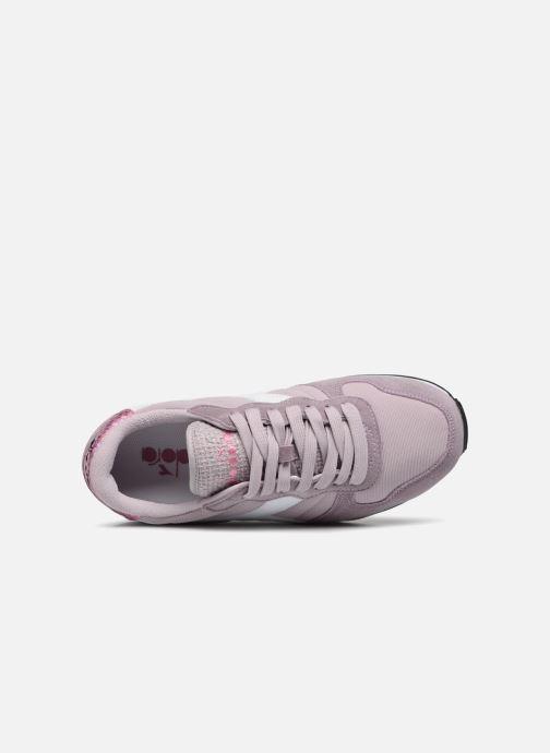 Sneakers Diadora CAMARO WN Rosa immagine sinistra