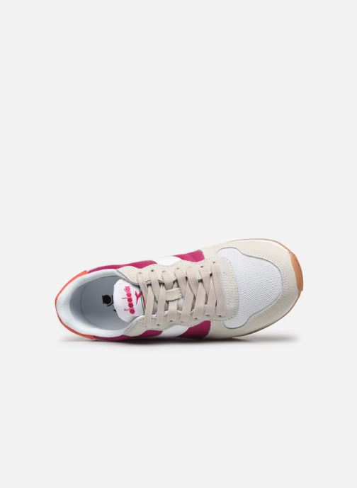 Sneakers Diadora CAMARO WN Bianco immagine sinistra