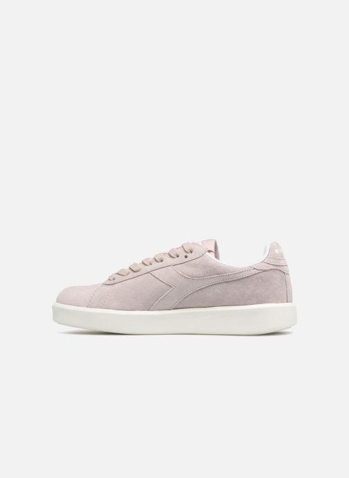 Sneakers Diadora GAME WIDE NUB Roze voorkant