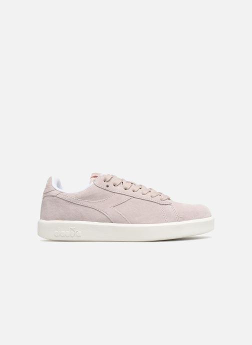 Sneakers Diadora GAME WIDE NUB Roze achterkant