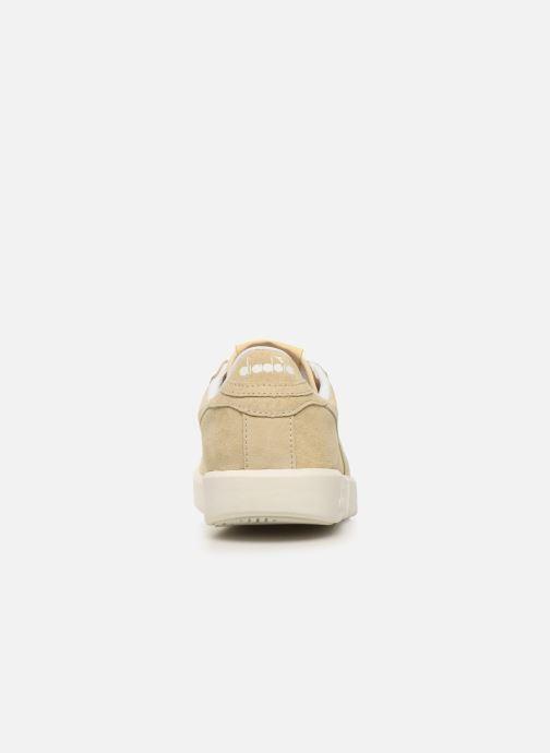 Sneakers Diadora GAME WIDE NUB Beige immagine destra