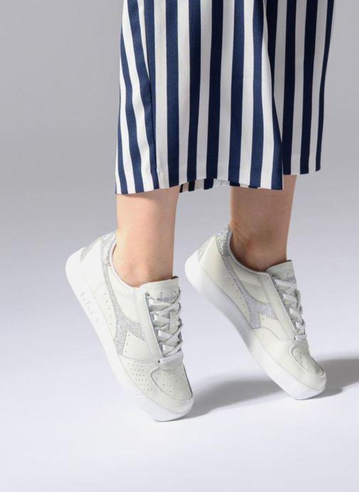 Sneakers Diadora B.ELITE L WN Bianco immagine dal basso