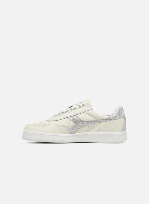 Sneakers Diadora B.ELITE L WN Bianco immagine frontale