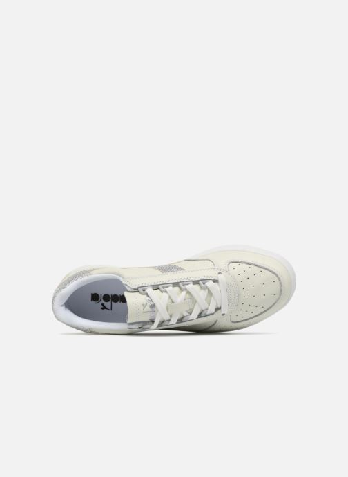 Sneakers Diadora B.ELITE L WN Bianco immagine sinistra