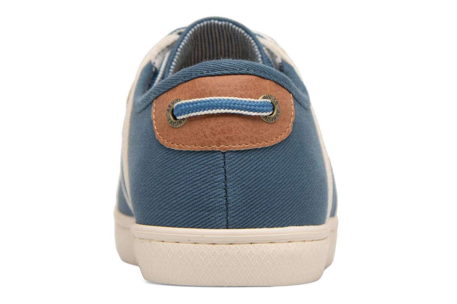 Trainers Armistice Drone One B. Canvas Blue view from the right