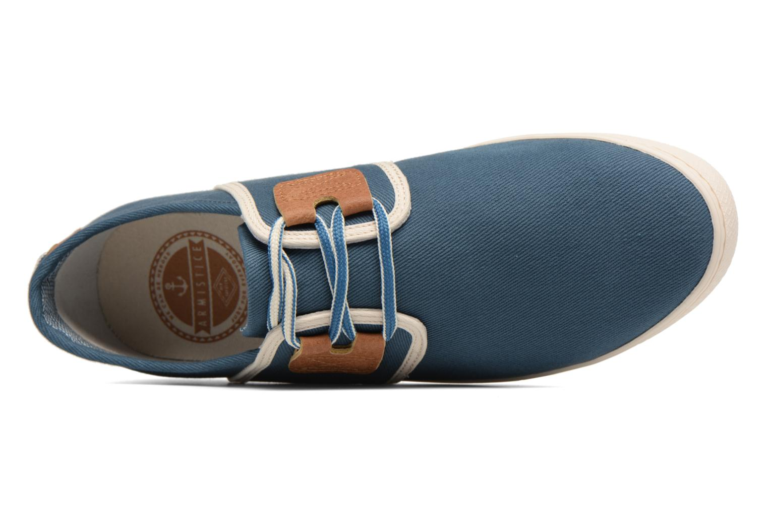 Trainers Armistice Drone One B. Canvas Blue view from the left