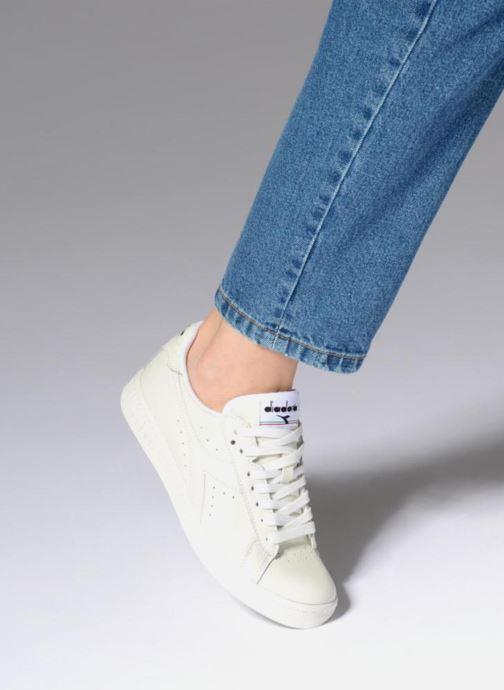 Sneakers Diadora GAME L LOW W Bianco immagine dal basso
