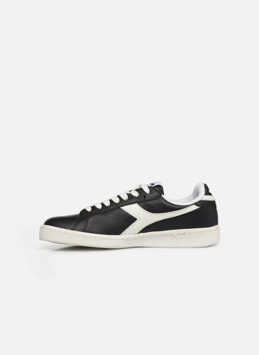 Sneakers Diadora GAME L LOW W Zwart voorkant