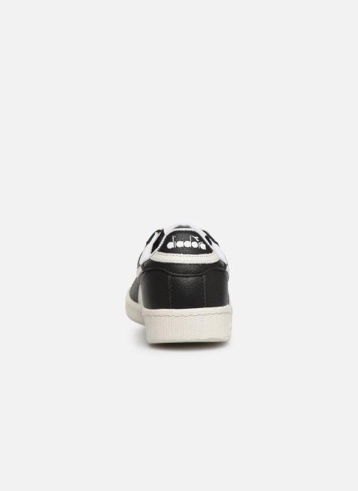 Sneakers Diadora GAME L LOW W Zwart rechts