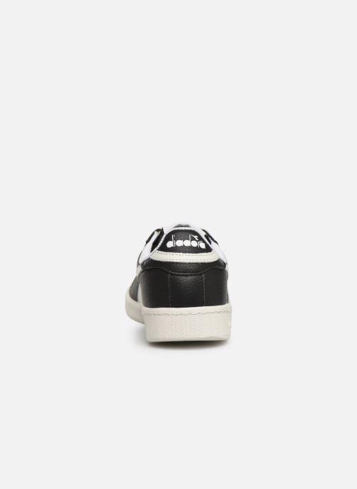 Sneakers Diadora GAME L LOW W Nero immagine destra