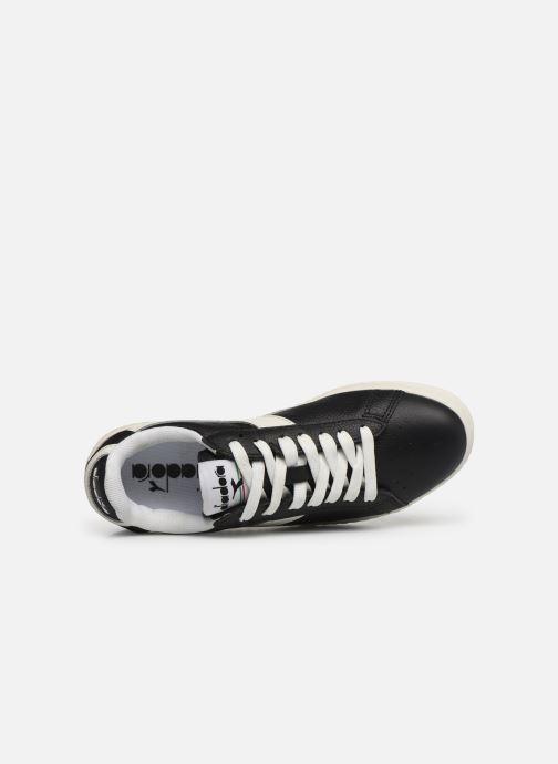 Sneakers Diadora GAME L LOW W Nero immagine sinistra
